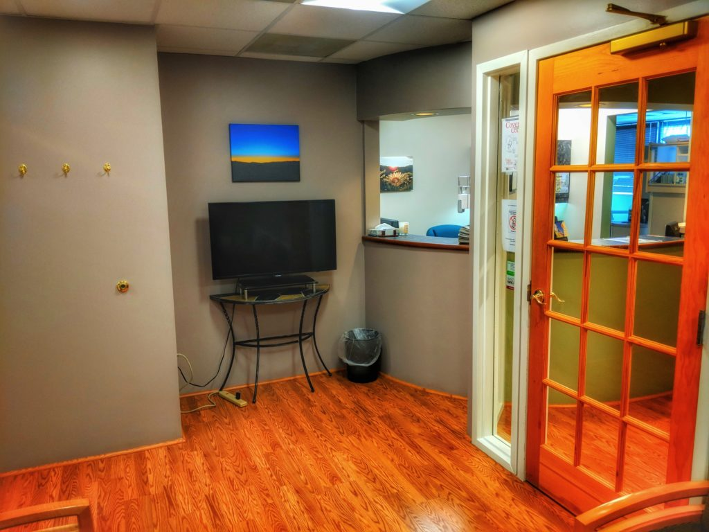 The Reception Area At Shah Dentistry